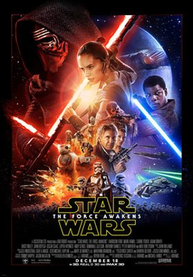 Star Wars The Force Awakens Theatrical Poster - Interview - Nate Blasdell of I Set My Friends on Fire
