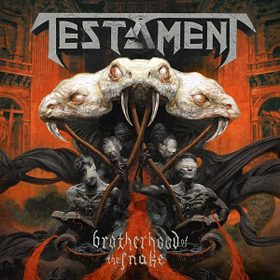 Testament   The Brotherhood of the Snake 2016 - CrypticRock Presents: The Best Albums of 2016