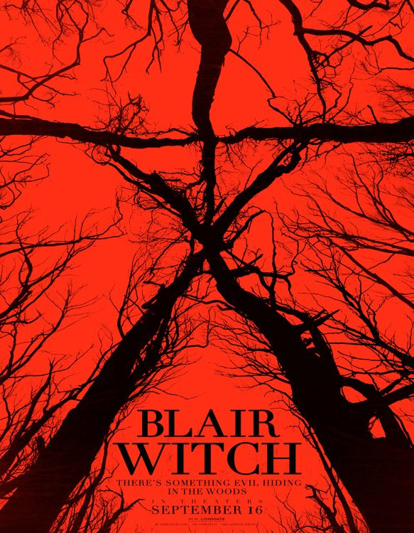 blairwitch poster - Blair Witch (Movie Review)