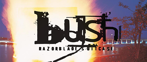 bush razor slide - Bush - A Sharp Impact With Razorblade Suitcase 20 Years Later