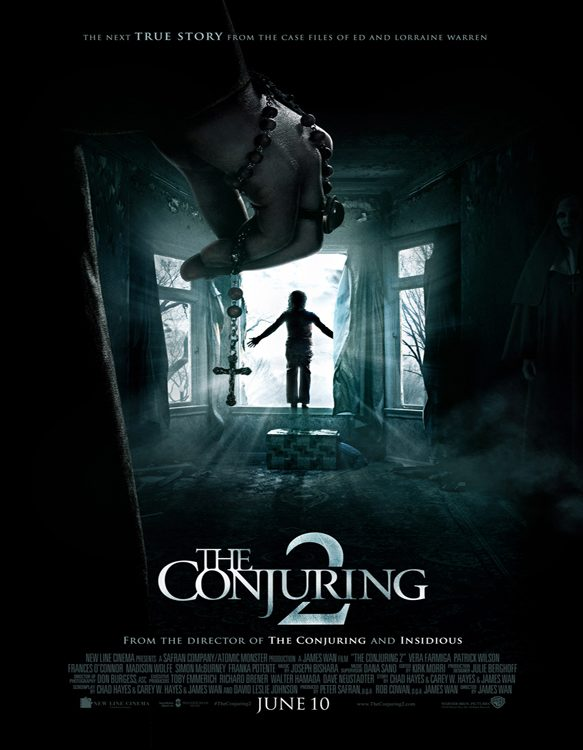 conjuring 2 - CrypticRock Presents: Top 10 Horror Films of 2016