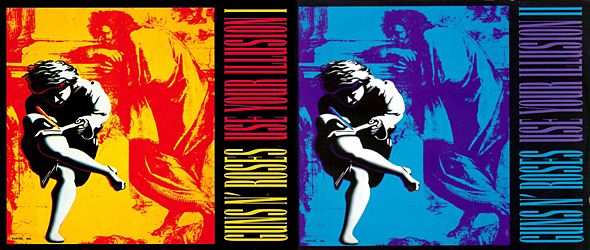 guns n roses slide illusions - Guns N' Roses - The Impact Of Use Your Illusion 25 Years Later