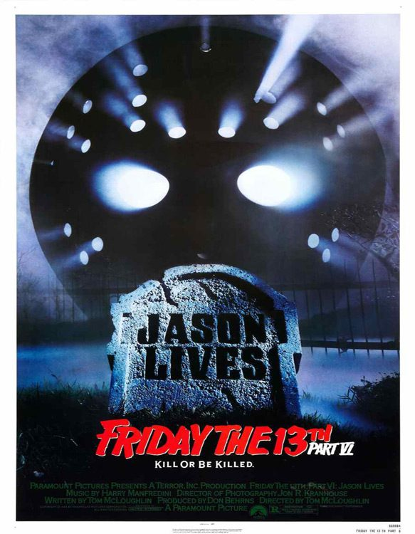 jason lives poster - Friday the 13th Part VI: Jason Lives - A Fan-favorite 30 Years Later