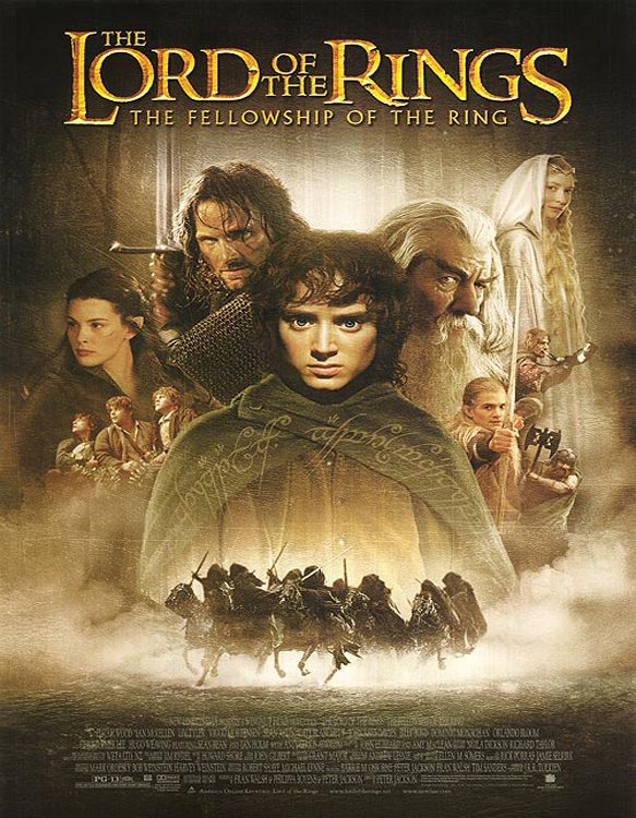 lord poster - The Lord of the Rings: The Fellowship of the Ring - Fantastical Excellence 15 Years Later