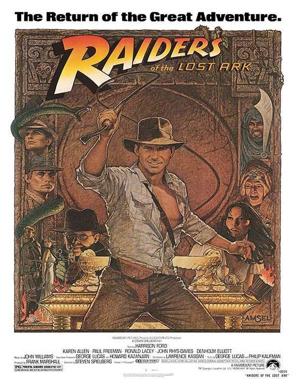 raidesr movie poster - Raiders of the Lost Ark - An Epic Movie Adventure 35 Years Later