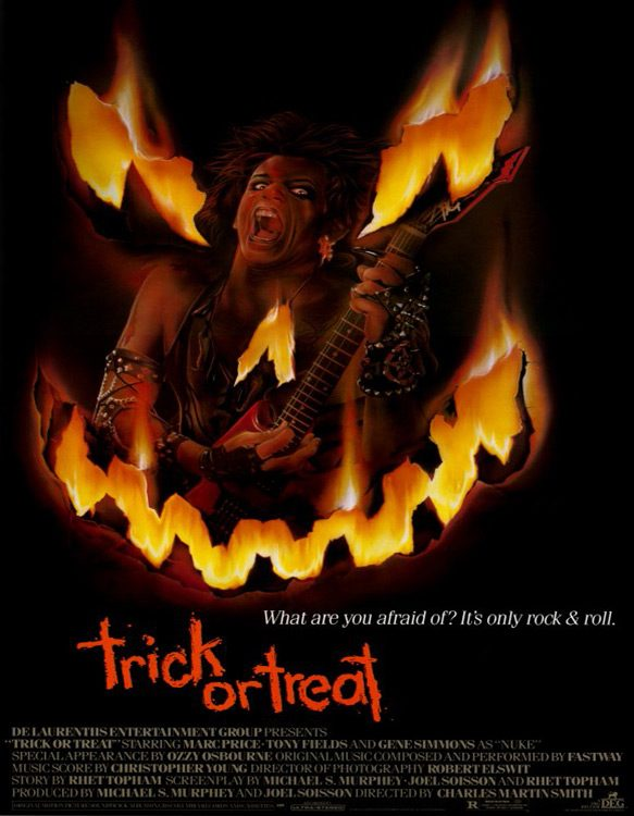 trick or treat movie poster 1986 1020205062 - Trick Or Treat At 30 - Sammi Curr Lives!