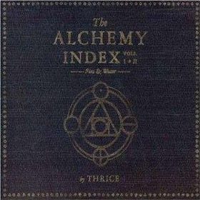 Thrice   The Alchemy Index Vols. I  II Fire  Water cover - Interview - Steph & Paul O'Sullivan of Greywind
