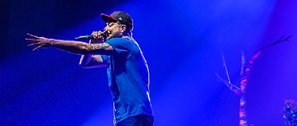 aesop slide - Aesop Rock Dazzles In Homecoming The Paramount Huntington, NY 1-21-17
