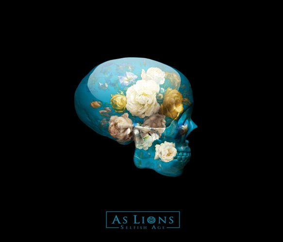as lions album cover 2 - As Lions - Selfish Age (Album Review)