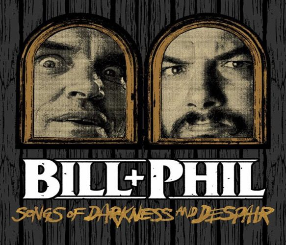 bilphilsongs - Bill & Phil - Songs Of Darkness and Despair (EP Review)