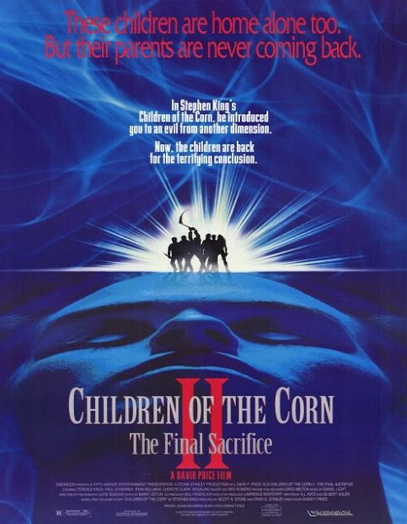 children of corn poster - This Week In Horror Movie History - Children of the Corn II: The Final Sacrifice (1993)