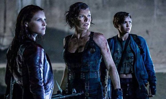 evil 3 - Resident Evil: The Final Chapter (Movie Review)