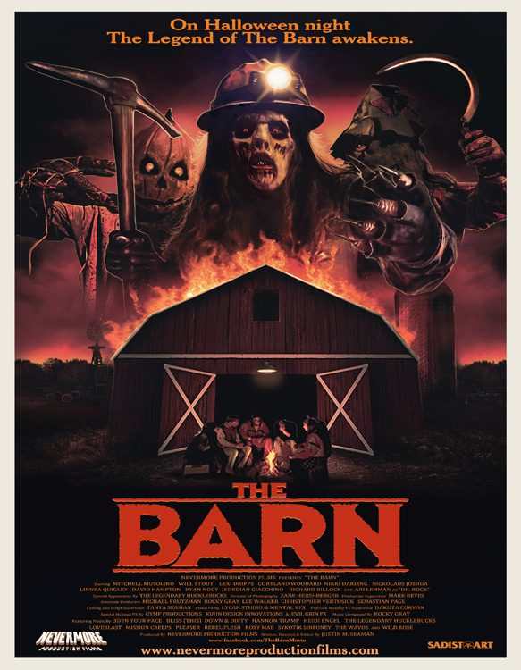 the barn poster - The Barn (Movie Review)