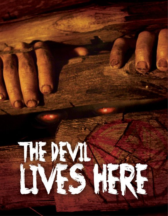 the devil lives here poster - The Devil Lives Here (Movie Review)