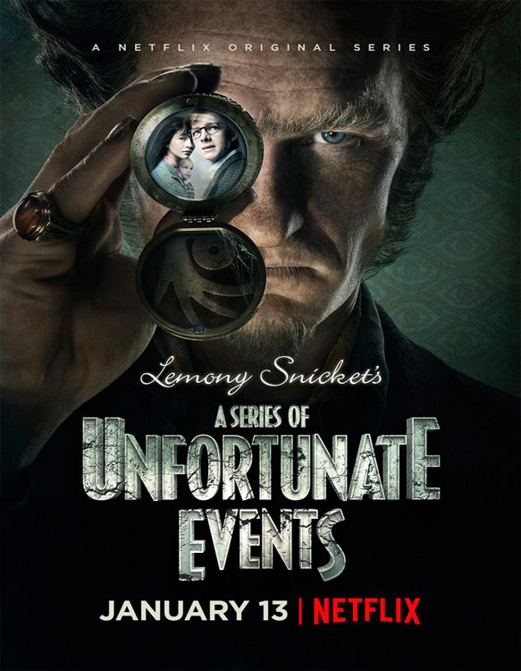 unfortunate poster - A Series of Unfortunate Events (Season One Review)