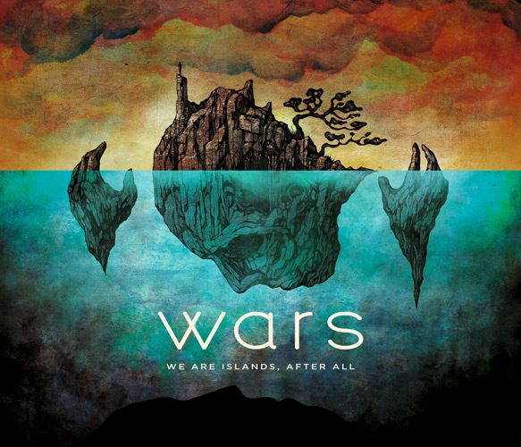 wars album cover - Wars - We Are Islands, After All (Album Review)