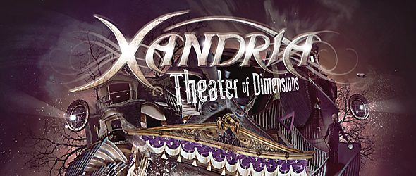 xandria slide - Xandria - Theater of Dimensions (Album Review)