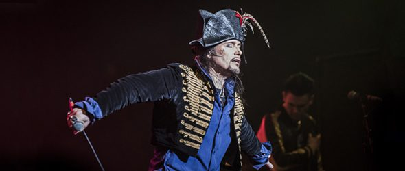 adam ant slide - Adam Ant: The King Of The Wild Frontier Amazes Rialto Theatre Tucson, AZ 2-11-17
