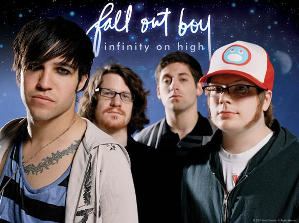 fallout promo 2007 - Fall Out Boy - Infinity on High A Decade Later