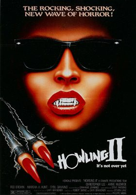 howling II poster - Interview - Philippe Mora