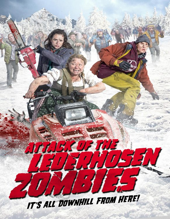 zombies new poster 2017 - Attack of the Lederhosen Zombies (Movie Review)