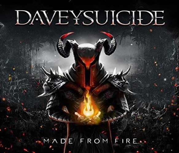 Davey Suicide   Made From Fire   Album Cover - Davey Suicide - Made From Fire (Album Review)