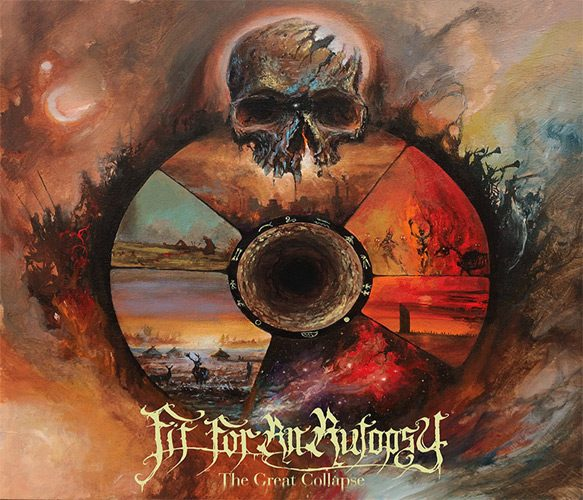 FFAA Cover - Fit For An Autopsy - The Great Collapse (Album Review)