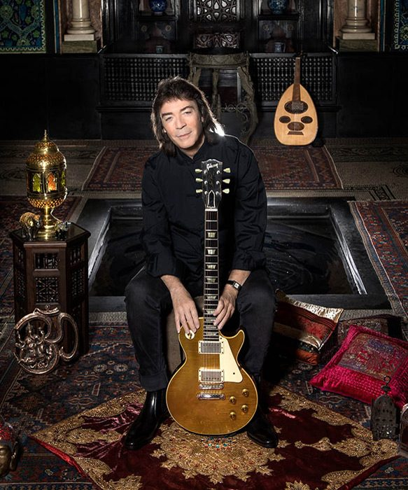 SteveHackettPressNightSirenTinaKor - Steve Hackett - The Night Siren (Album Review)