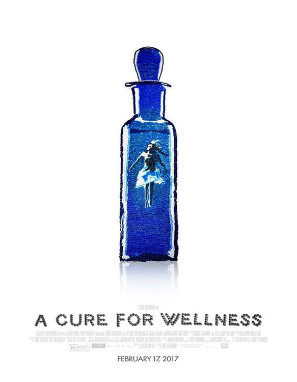 a cure poster - A Cure for Wellness (Movie Review)