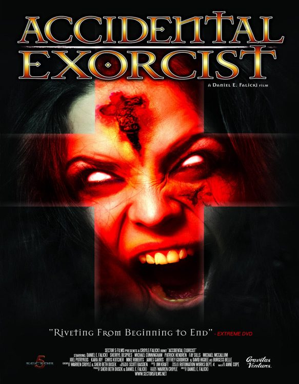 accidental exorcist poster - Accidental Exorcist (Movie Review)