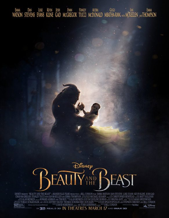 beauty and the beast 2017 official poster 211189 - Beauty and The Beast (Movie Review)