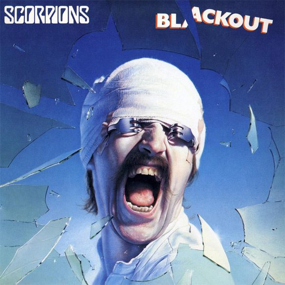 blackout album cover - Scorpions - Blackout 35 Years Later