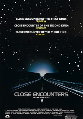close encounters poster - Interview - Lee Shapiro of The Hit Men