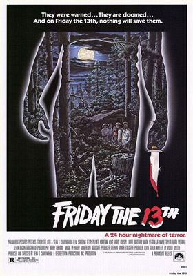 friday the 13th poster 1980 - Interview - John Tardy of Obituary