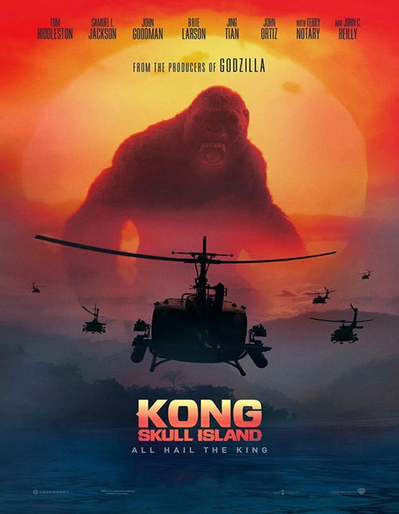 kong poster - Kong: Skull Island (Movie Review)