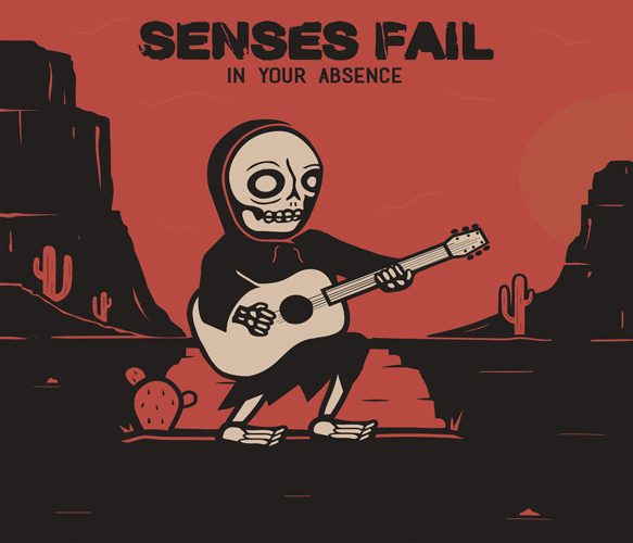 senses fail ep cover - Senses Fail - In Your Absence (EP Review)