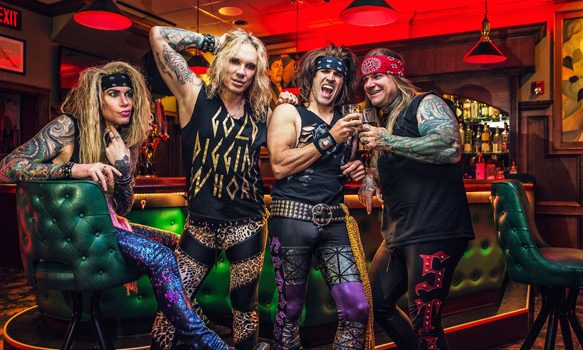 steelpanther promoshot - Steel Panther - Lower The Bar (Album Review)