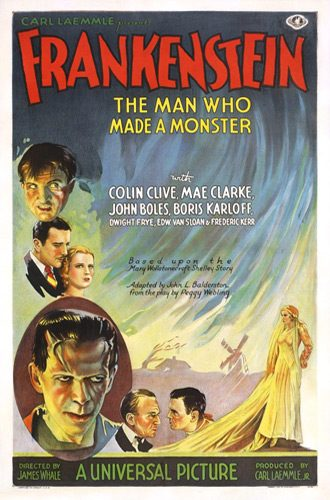 Frankenstein poster 1931 - Interview - Brian Ray