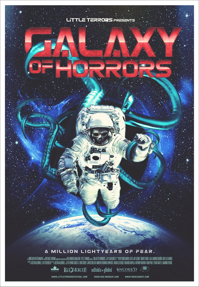 Galaxy of Horrors Movie Poster Justin Mcconnell - Galaxy of Horrors (Movie Review)