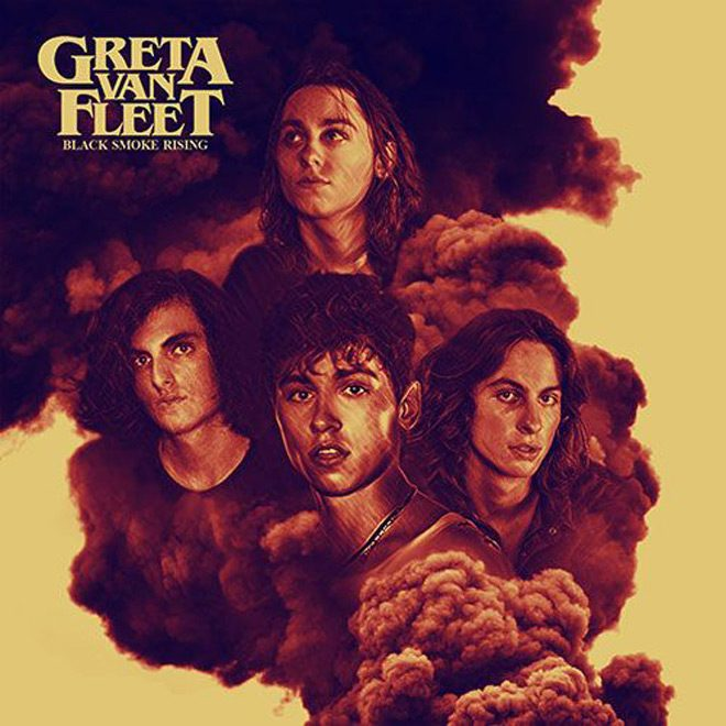 GretaVanFleet BlackSmokeRising EpArt final - Greta Van Fleet - Black Smoke Rising (EP Review)