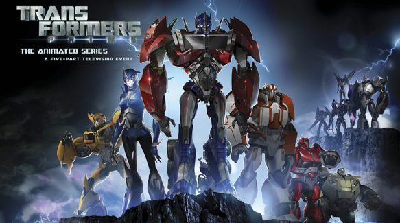 Transformers Prime series poster - Interview - David Hartman