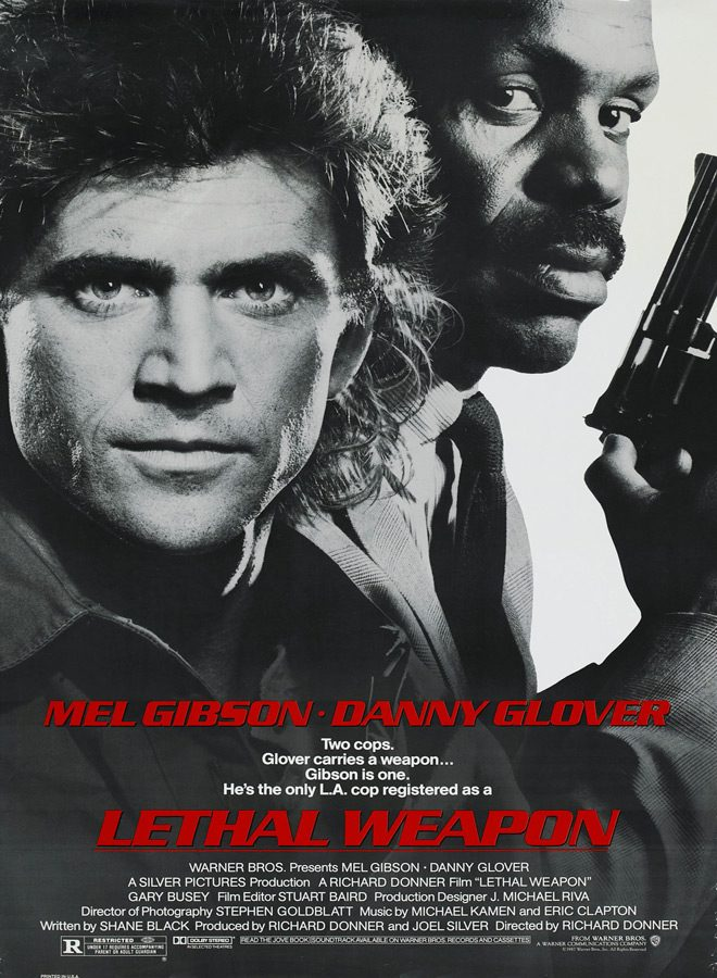 lethal weapon poster - Lethal Weapon 30 Years Later