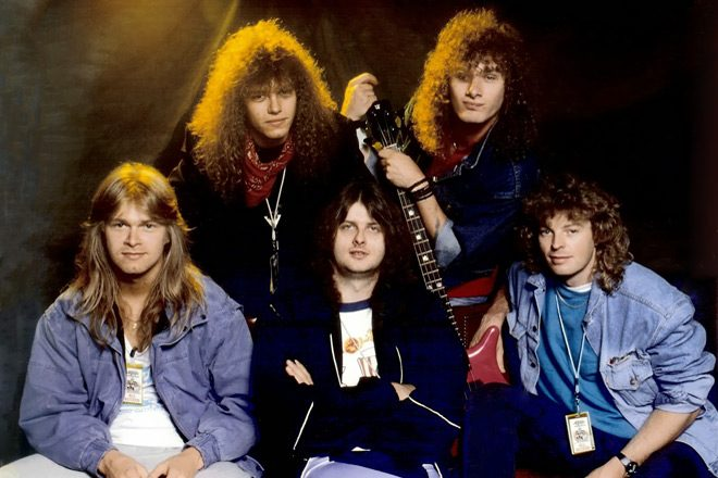 Helloween 1987 promo - Helloween's Keeper of the Seven Keys Part I Turns 30