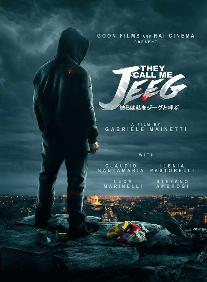 Jeeg Key Art - They Call Me Jeeg (Movie Review)