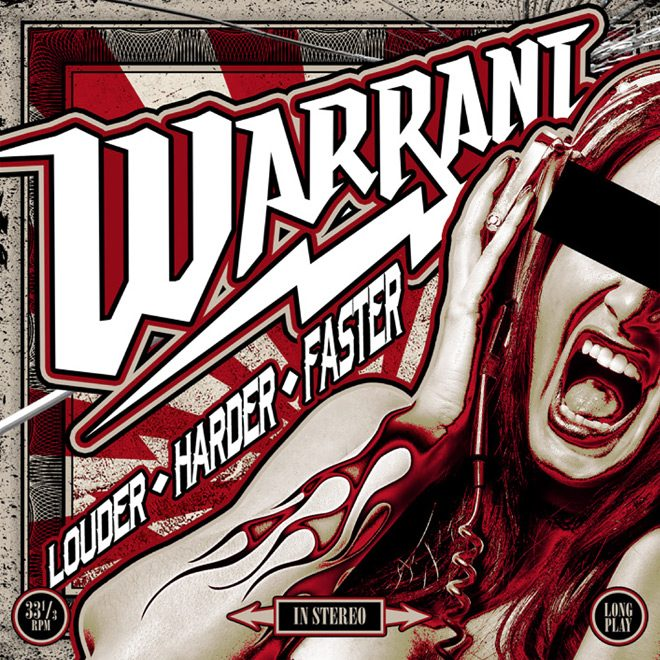 WARRANT lhf cover 3000 - Warrant - Louder, Harder, Faster (Album Review)