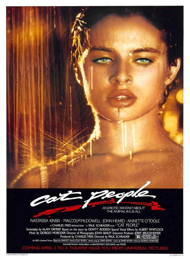 cat people poster - Cat People - Lascivious Leopards 35 Years Later