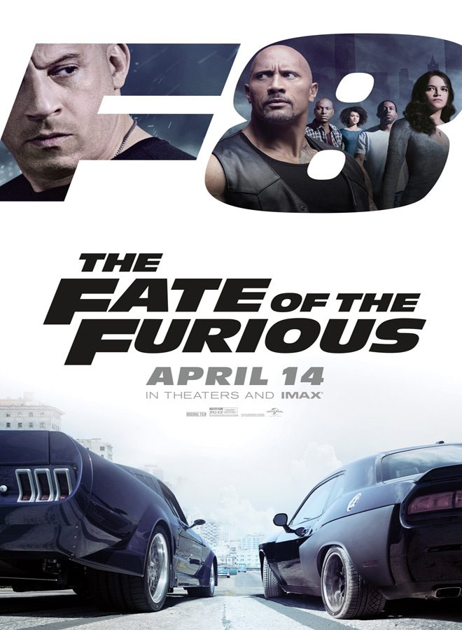 fate poster - The Fate of the Furious (Movie Review)