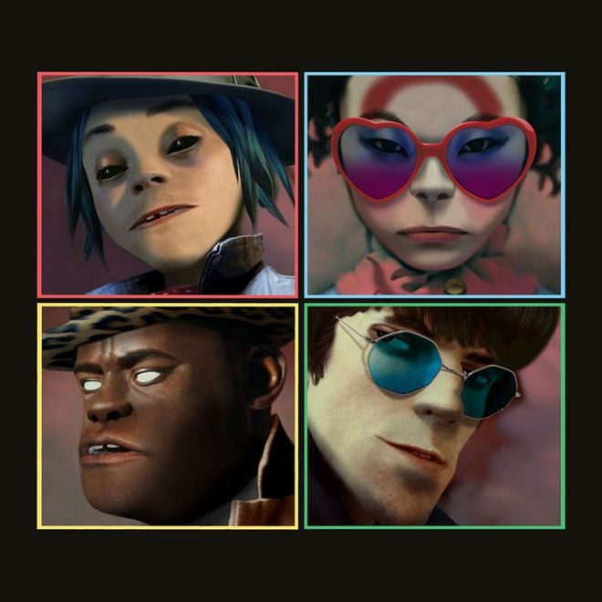 gorillaz humanz album cover - Gorillaz - Humanz (Album Review)