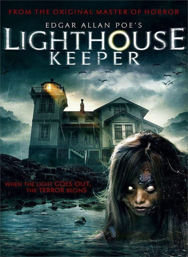 lighthouse poster - Edgar Allan Poe's Lighthouse Keeper (Movie Review)