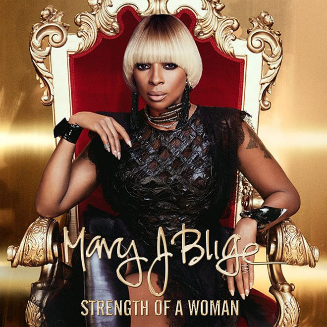 mary j blige strength of a woman album cover - Mary J. Blige - Strength of a Woman (Album Review)